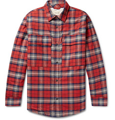 Fear of God Checked Cotton-Flannel Overshirt