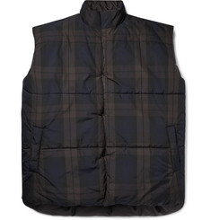 d95260233b0e4 Fear of God Oversized Reversible Checked Nylon Gilet