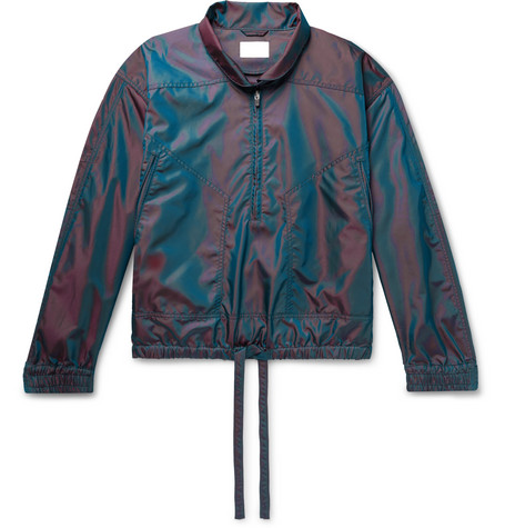 Fear of God Iridescent Nylon Half-Zip Anorak