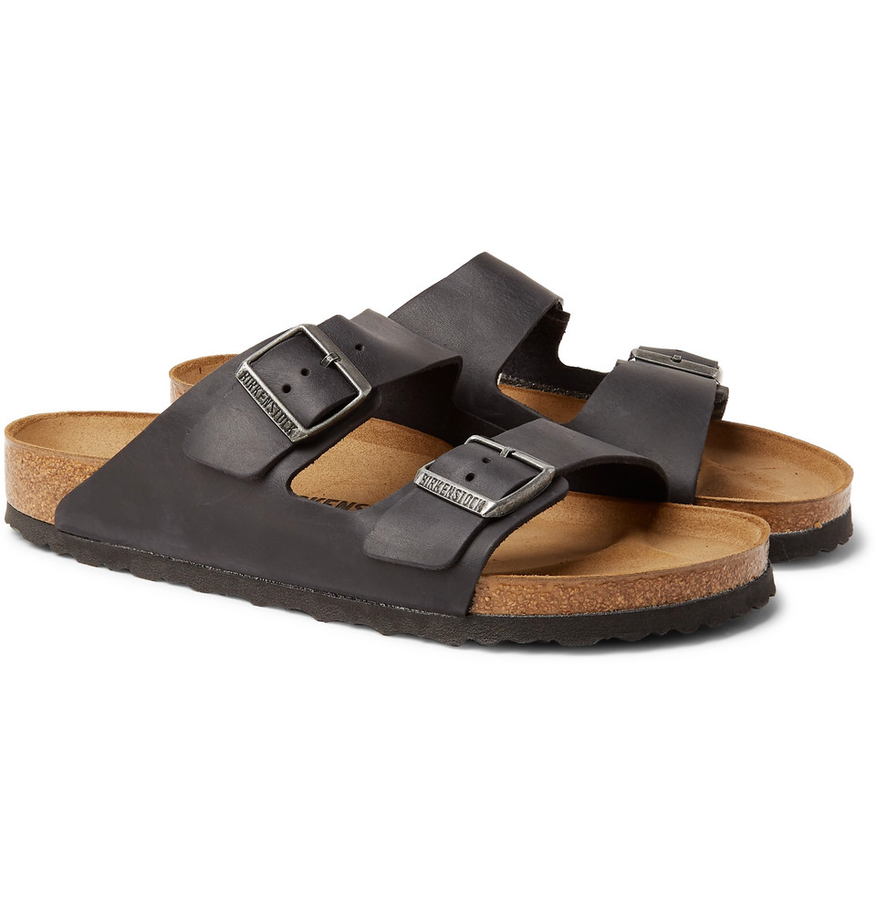 Birkenstock Arizona Oiled-Leather Sandals
