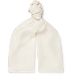 Favourbrook - Fringed Silk Scarf