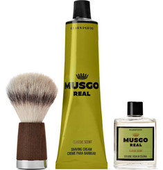 Claus Porto Musgo Real Classic Scent Shave Set