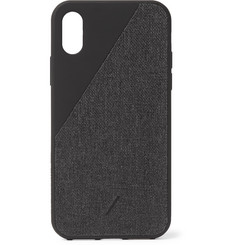Native Union Clic Canvas iPhone X/XS Case