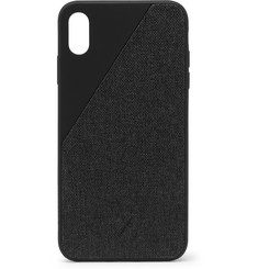 Native Union Clic Canvas iPhone XS Max Case