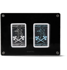 Bamford Watch Department - Set of Two Illustrated Playing Cards Decks
