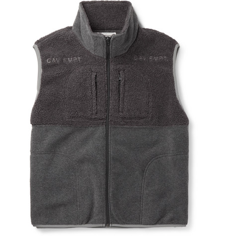 Cav Empt Colour-Block Fleece Gilet