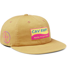 Cav Empt - Logo-Appliquéd Cotton-Twill Baseball Cap