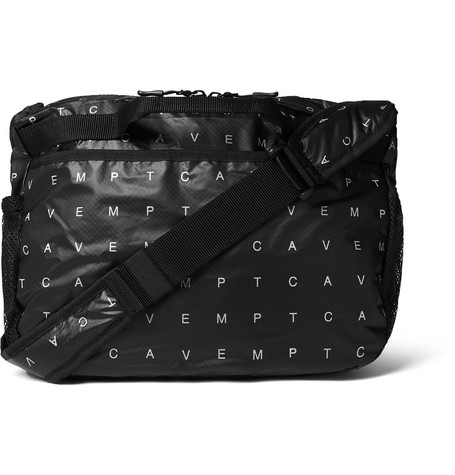 Array Logo Print Ripstop Shell Messenger Bag by Cav Empt