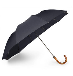 London Undercover - Wood-Handle Telescopic Umbrella