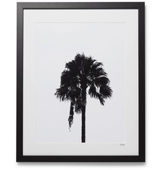 Sonic Editions Framed 2017 Palm Tree Print, 16