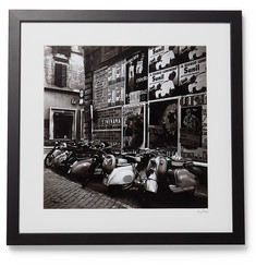 Sonic Editions Framed 1955 Scooters in Rome Print, 16