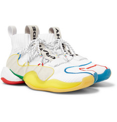 adidas Consortium + Pharrell Williams Crazy BYW LVL X Mesh Sneakers