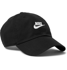 Nike - Sportswear Aerobill Logo-Embroidered Cotton-Twill Baseball Cap