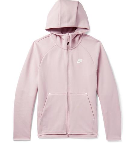cc0b81ce1ad1 Nike - Sportswear Cotton-Blend Tech-Fleece Zip-Up Hoodie