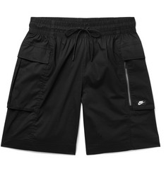Nike Sportswear Stretch Cotton-Blend Poplin Cargo Shorts