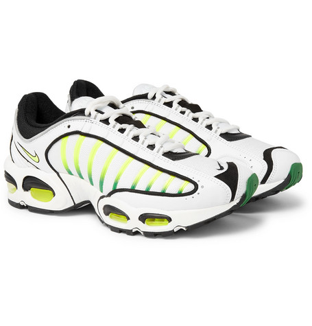 promo code 26f9b ddb15 NikeAir Max Tailwind IV Mesh and Leather Sneakers