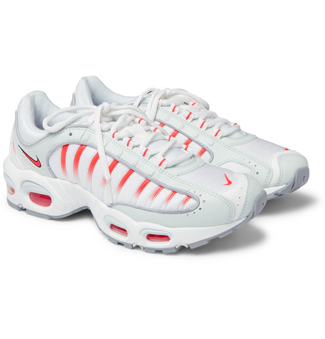 Air Max Tailwind Iv Mesh And Leather Sneakers - White