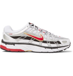 Nike P-6000 CNPT Leather, Mesh and Rubber Sneakers