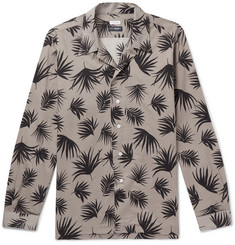 Beams F Printed Cotton Shirt