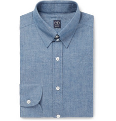 Beams F Cotton-Chambray Shirt