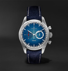 Zenith Chronomaster El Primero Solar Blue Limited Edition Automatic Chronograph 38mm Stainless Steel and Al
