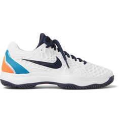 Nike Tennis - Air Zoom Cage 3 Rubber And Mesh Tennis Sneakers