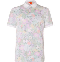 Nike Golf Floral-Print Dri-FIT Cotton-Blend Piqué Golf Polo Shirt