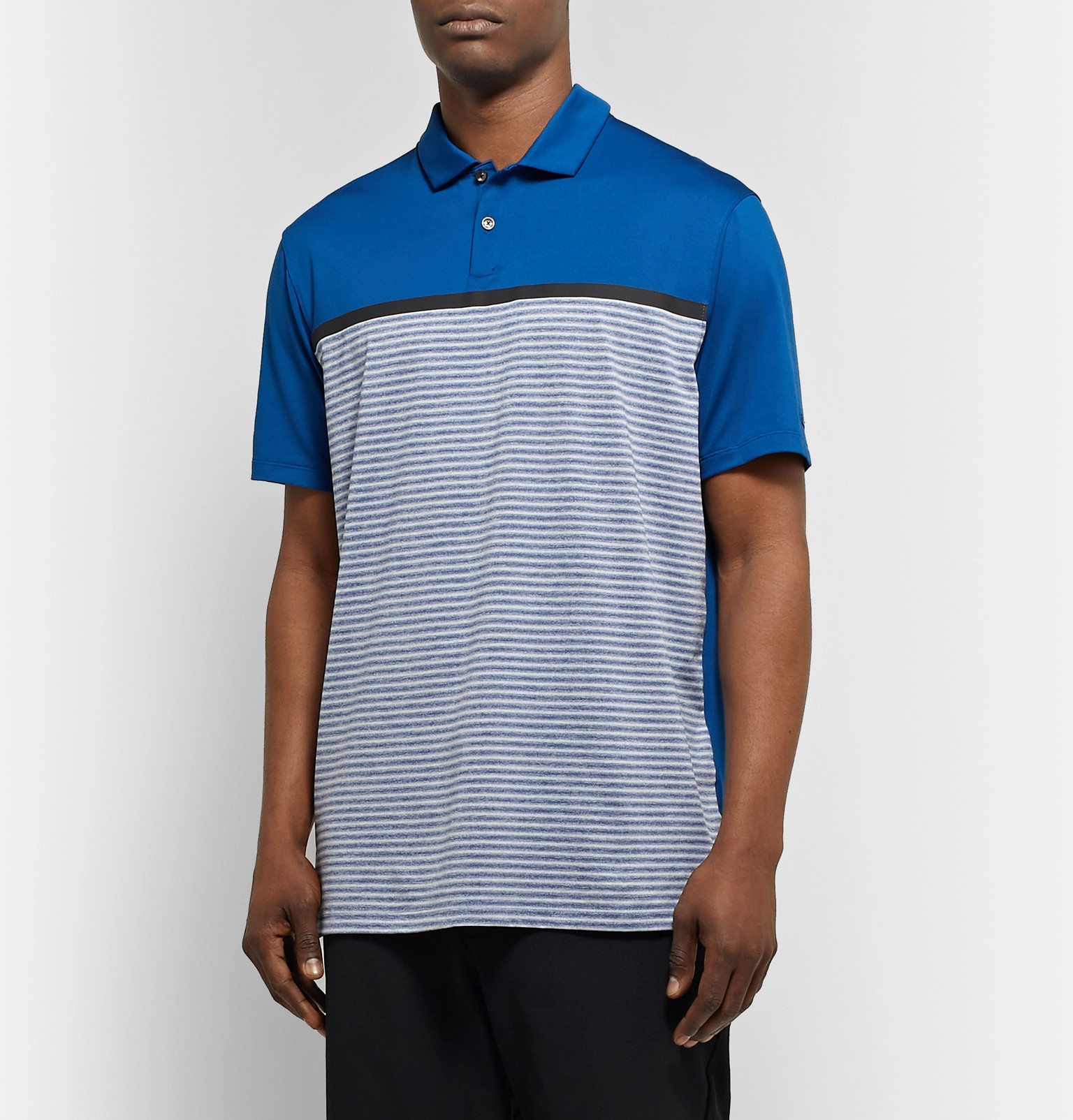 b78fdbbf Nike Golf - Tiger Woods Vapor Striped Dri-FIT Polo Shirt