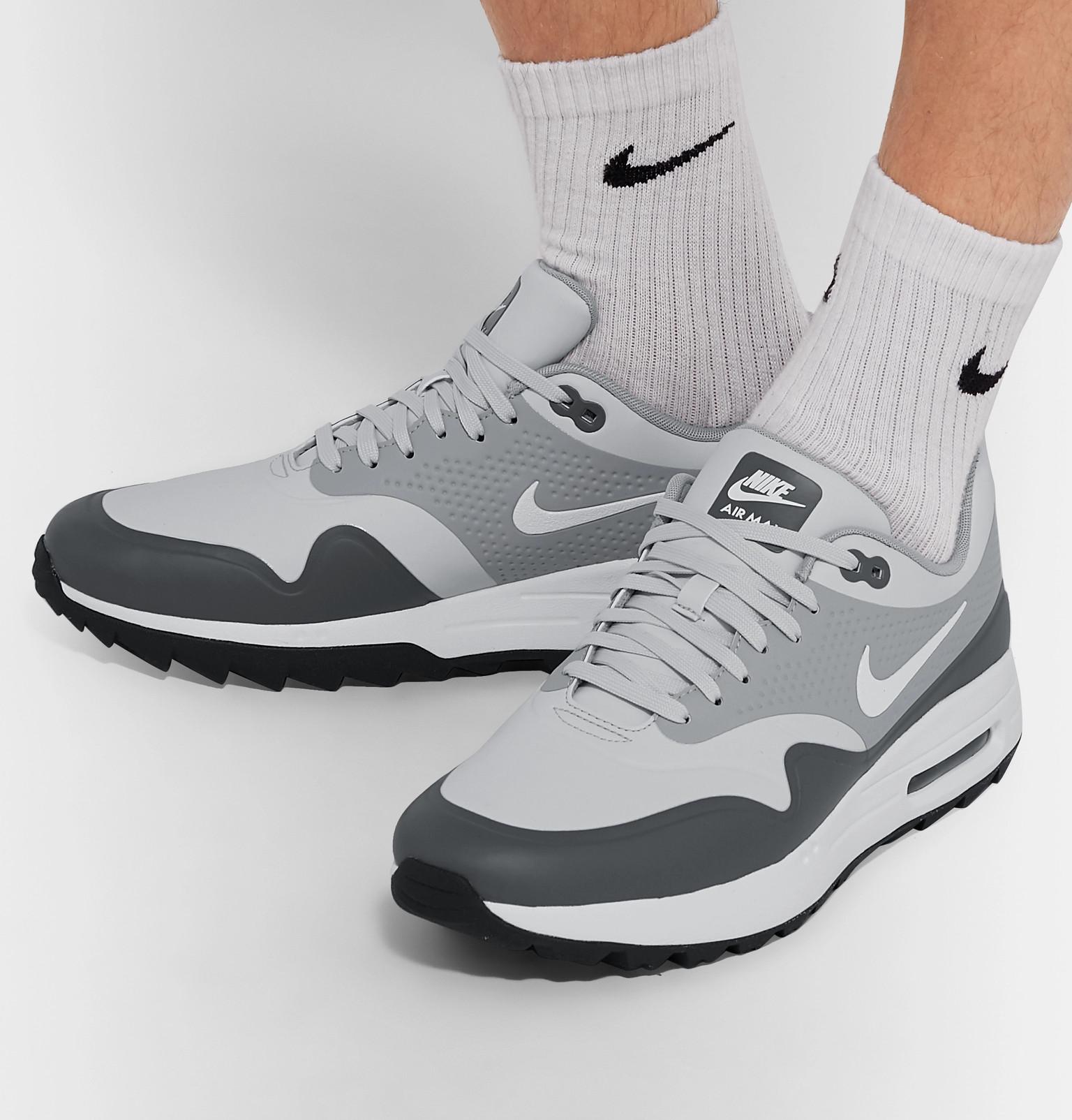 huge discount c9a8c 5ef04 Nike GolfAir Max 1G Coated-Mesh Golf Shoes