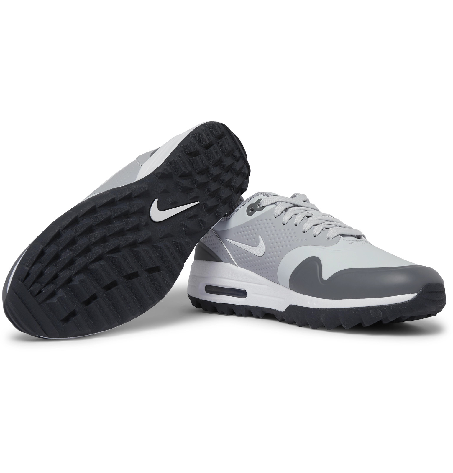 finest selection c2b70 0145e Nike GolfAir Max 1G Coated-Mesh Golf Shoes. £100. Tap to Close. 1