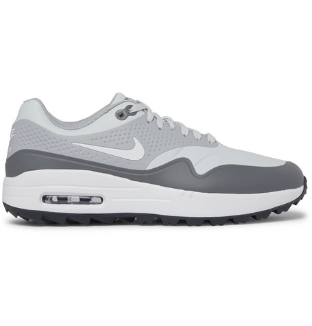 best website ba2f1 2d5cb Nike Golf - Air Max 1G Coated-Mesh Golf Shoes