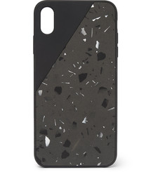 Native Union - Clic Terrazzo Jesmonite iPhone XS Max Case