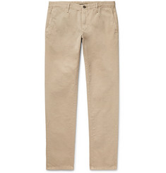 Incotex - Slim-Fit Cotton-Twill Chinos