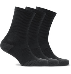 Nike Training - Three-Pack Everyday Max Cushion Crew Dri-FIT Socks