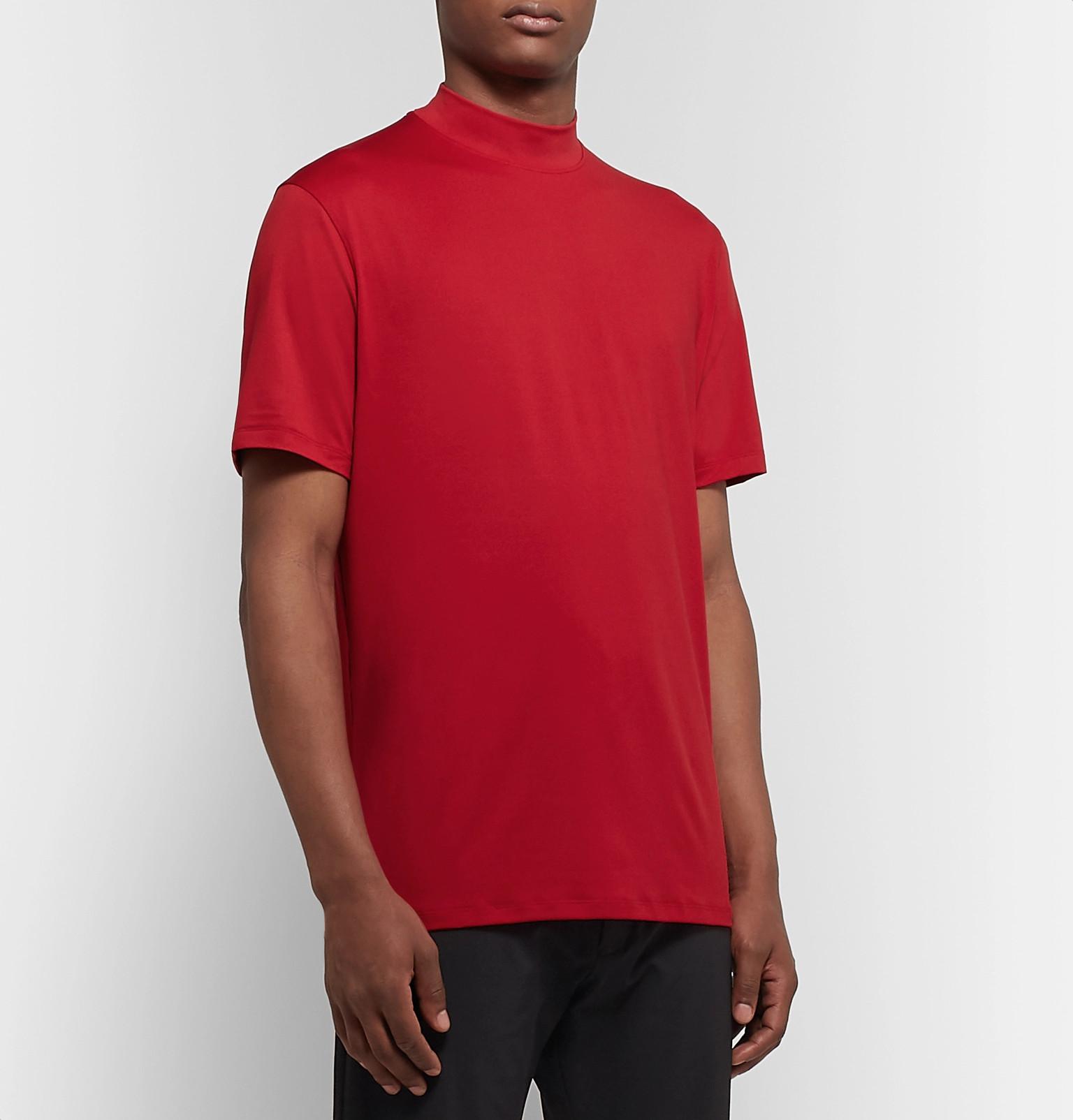 123b0901343de Nike Golf - TW Vapor Dri-FIT Mock Neck Golf Shirt