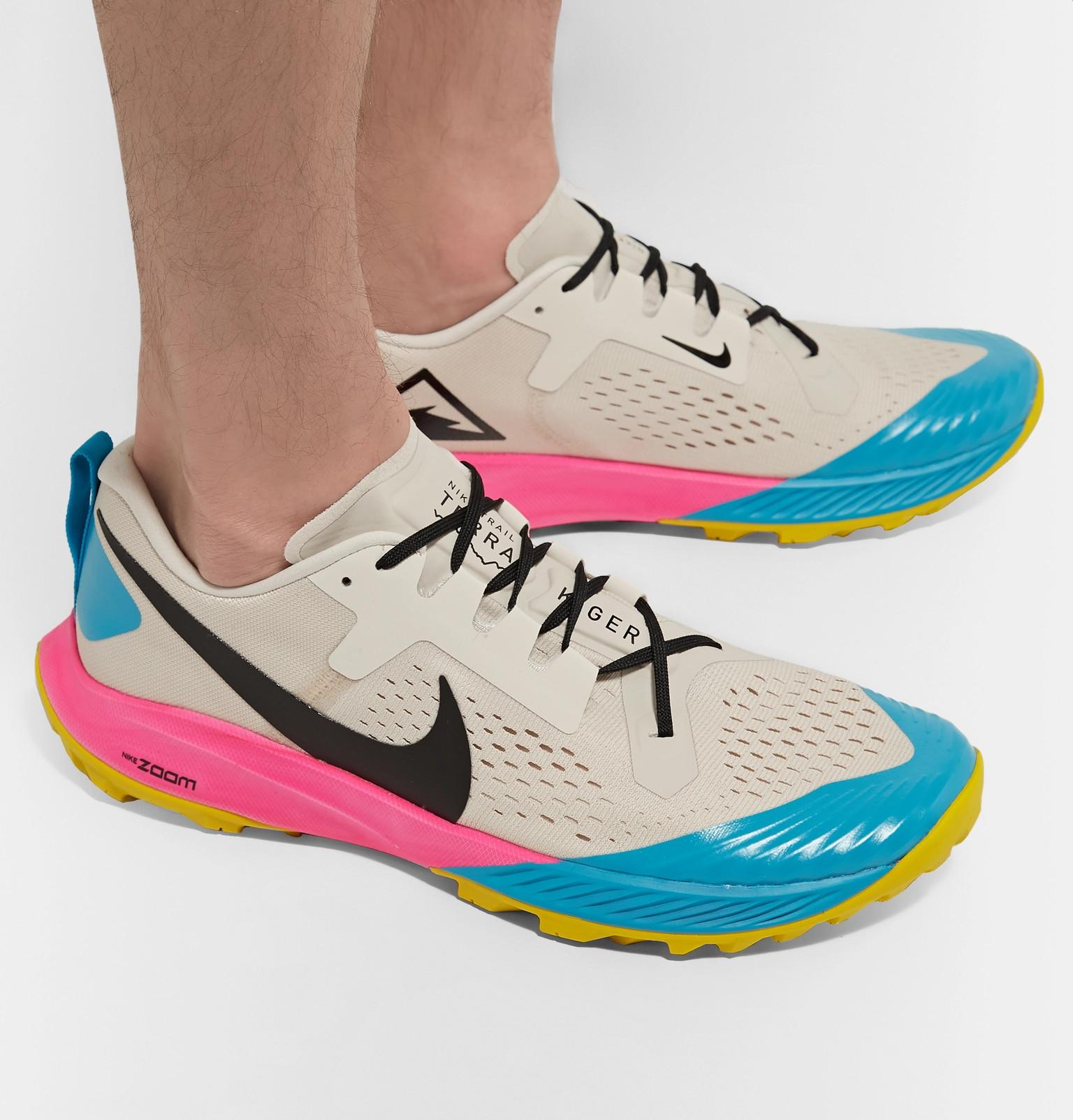 6101ae582bc3b Nike Running - Air Zoom Terra Kiger 5 Flymesh Running Sneakers