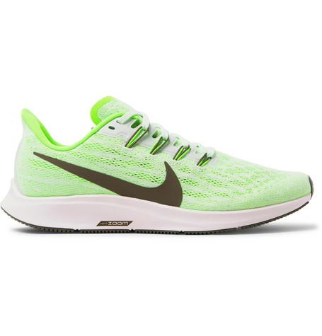 Air Zoom Pegasus 36 Mesh Running Sneakers by Nike Running