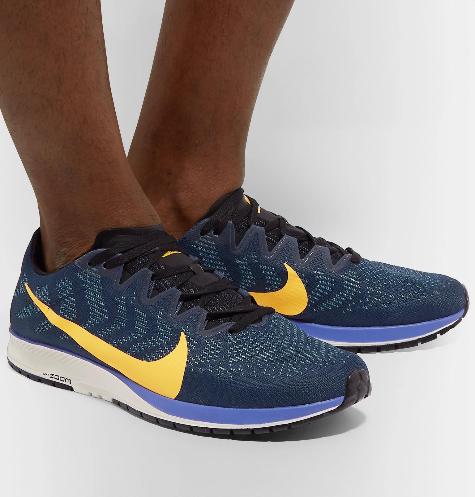 510846cd108 Nike Running - Air Zoom Streak 7 Mesh Running Sneakers