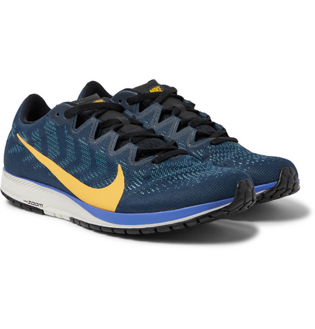 Nike Running Air Zoom Streak 7 Mesh Running Sneakers