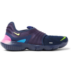 Nike Running Free RN 3.0 Flyknit and Neoprene Slip-On Sneakers