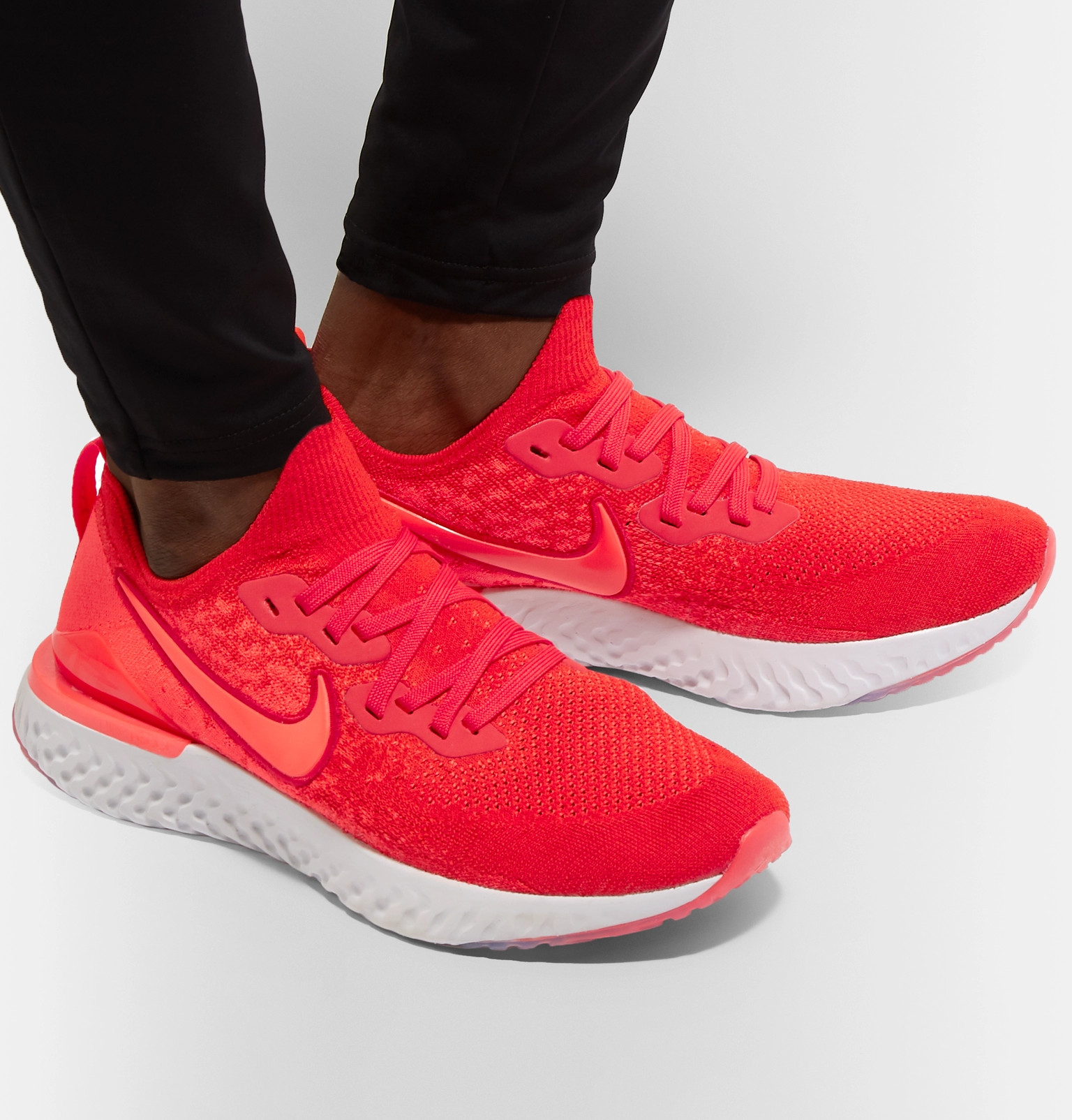 6a91f87341db Nike Running - Epic React Flyknit 2 Running Sneakers