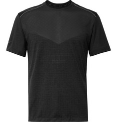 Nike Running Tech Pack Stretch Jacquard-Knit Running T-Shirt