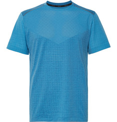 Nike Running - Tech Pack Perforated Stretch Jacquard-Knit T-Shirt