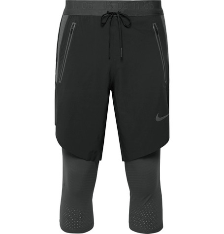 Nike Running Tech Pack 2-In-1 Layered Dri-FIT Tights