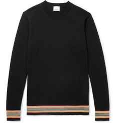 Burberry Striped Merino Wool Sweater