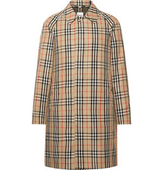 Burberry Checked Nylon Coat