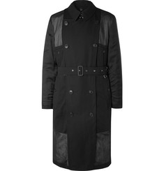 Burberry Cotton-Voile and Twill Trench Coat