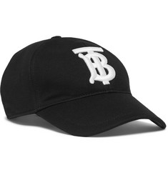 Burberry - Logo-Embroidered Cotton-Twill Baseball Cap