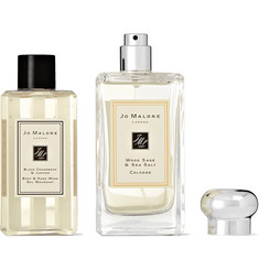 Jo Malone London - Wood Sage & Sea Salt Cologne and Black Cedarwood & Juniper Body Wash Set