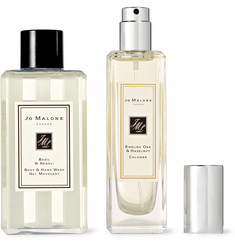 Jo Malone London - English Oak & Hazelnut Cologne and Basil & Neroli Body Wash Set